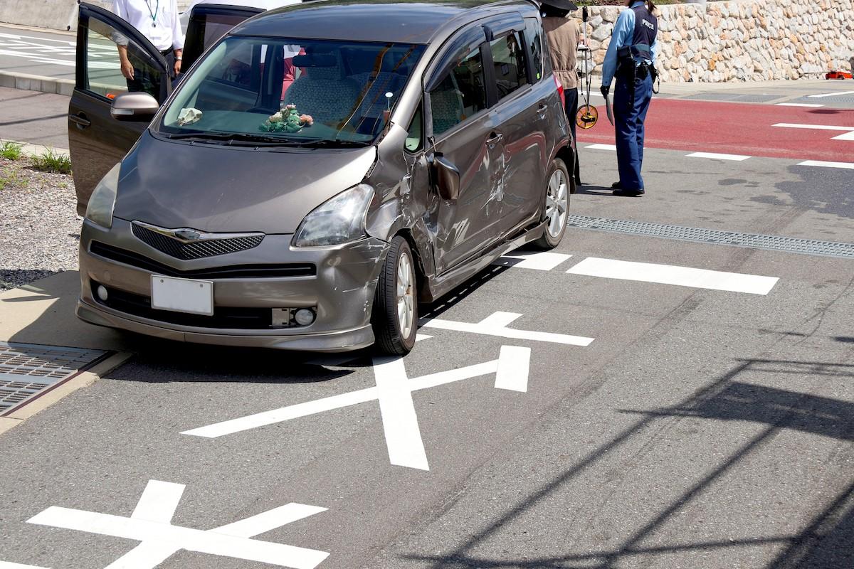 事故車運転